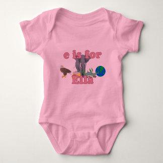 E is for Ella Baby Bodysuit