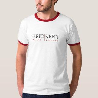 E|K Men's White Ringer T-Shirt