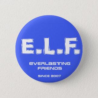 E.L.F. 2007 2 INCH ROUND BUTTON