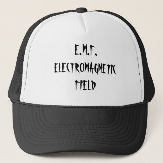 E.M.F.ELECTROMAGNETIC FIELD TRUCKER HAT