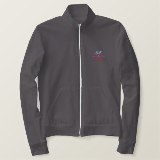 E. M. T. Logo Embroidered Jacket