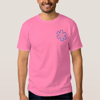 E M T Logo Embroidered T-Shirt