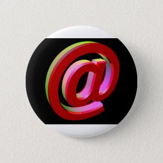 E-mail icon 2 inch round button