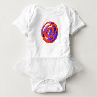 E-mail icon baby bodysuit