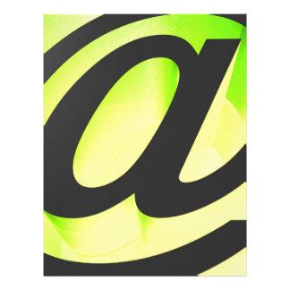 E-mail icon letterhead