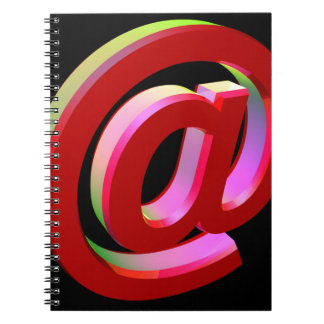E-mail icon notebooks