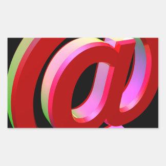 E-mail icon sticker