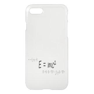 E=mc2 formula, physics relativity theory iPhone 8/7 case