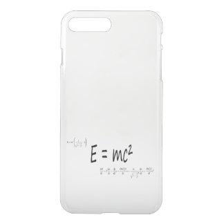 E=mc2 formula, physics relativity theory iPhone 8 plus/7 plus case