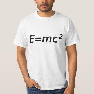 E=mc2 (No Frills) T-Shirt