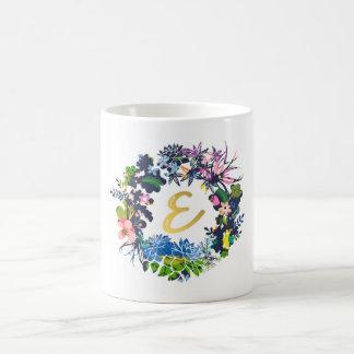 """""""E"""" Monogram Mug"""