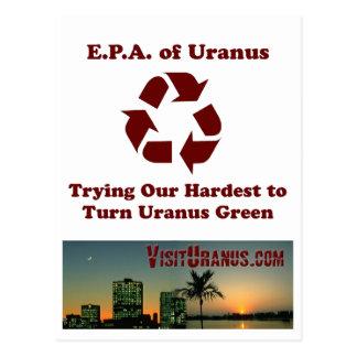 E.P.A. of Uranus Postcard