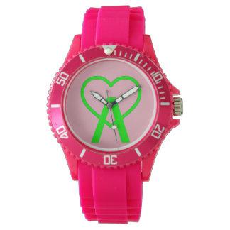 E&P Pink A~Heart Watch