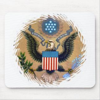 E Pluribus Unum Patriotic United States of America Mouse Pad