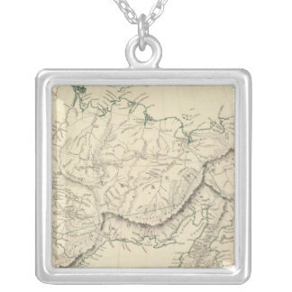 E Siberia Silver Plated Necklace