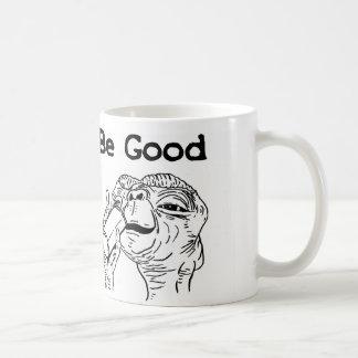 E.T. BE GOOD White 11 oz Classic White Mug