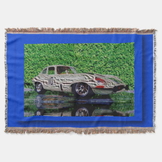 e-type - digital kind Jean Louis Glineur Throw Blanket