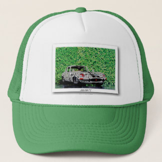 E-TYPE - Digitally Work Jean Louis Glineur Trucker Hat