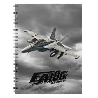 EA-18G Growler Notebook Spiral Photo Notebook