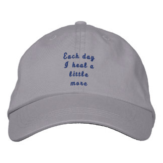 Each day I heal a little more Baseball Cap