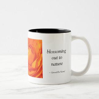 Each flower is a soul.... Two-Tone coffee mug