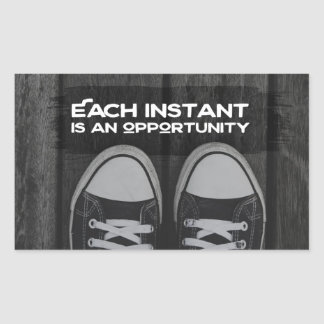 Each Instant Is An Opportunity Sticker