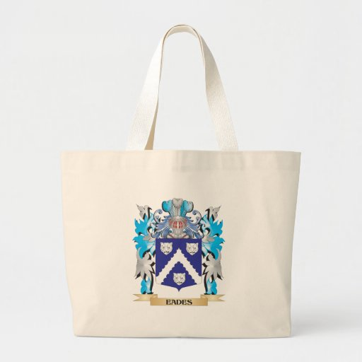 Eades Coat of Arms - Family Crest Canvas Bags