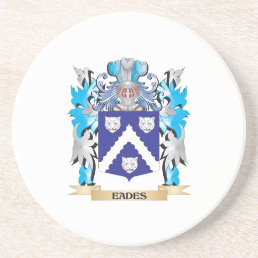Eades Coat of Arms - Family Crest Coasters