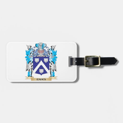 Eades Coat of Arms - Family Crest Luggage Tags