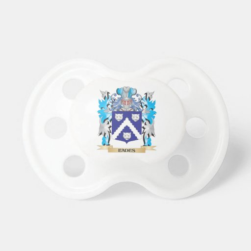 Eades Coat of Arms - Family Crest Baby Pacifiers
