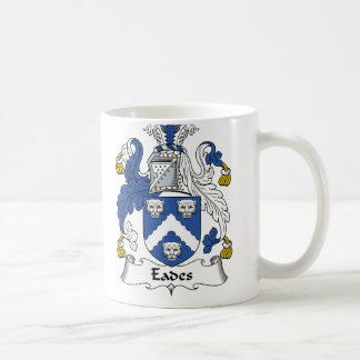 Eades Family Crest Classic White Coffee Mug