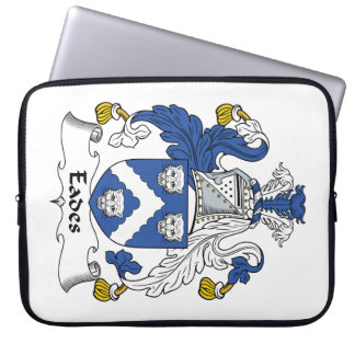 Eades Family Crest Computer Sleeves