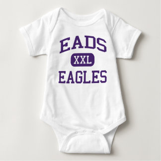 Eads - Eagles - Eads High School - Eads Colorado Baby Bodysuit