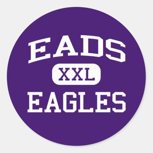 Eads - Eagles - Eads High School - Eads Colorado Sticker