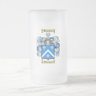 Eads Frosted Glass Beer Mug