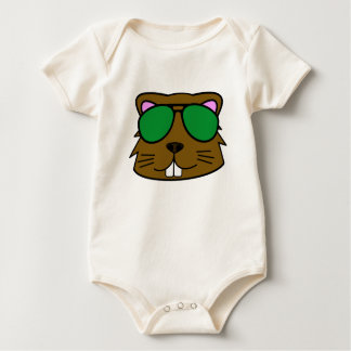 Eager Beaver Baby Bodysuit