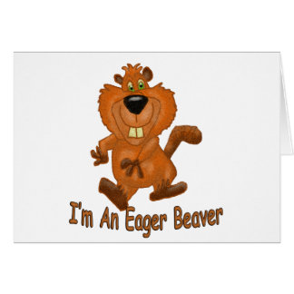 Eager Beaver Card