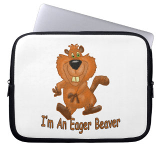 Eager Beaver Laptop Sleeve