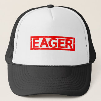 Eager Stamp Trucker Hat