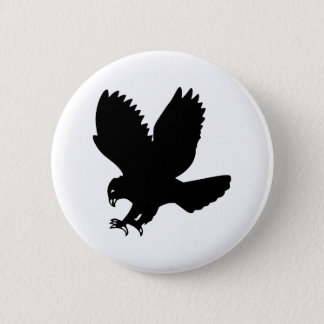 Eagle 2 Inch Round Button
