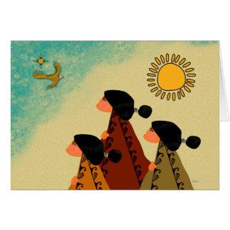 Eagle Admiration Card