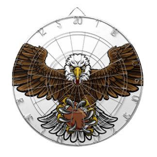Eagle American Football Sports Mascot Dartboard