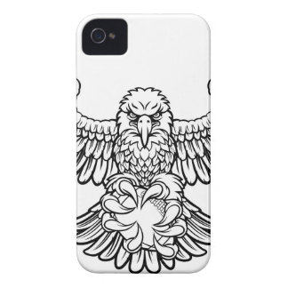 Eagle American Football Sports Mascot iPhone 4 Case