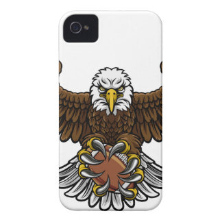 Eagle American Football Sports Mascot iPhone 4 Case-Mate Cases