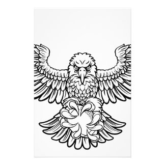 Eagle American Football Sports Mascot Stationery