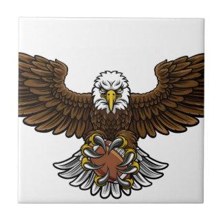 Eagle American Football Sports Mascot Tile