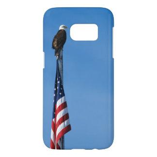 Eagle and American Flag - Galaxy 7 Samsung Galaxy S7 Case
