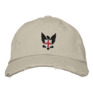 eagle and crest embroidered hat
