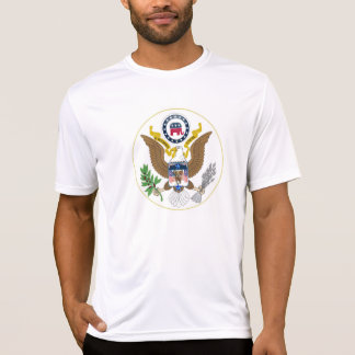 Eagle and Elephant Republican Great Seal T-Shirt