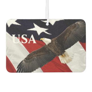 Eagle and Flag Air Freshener
